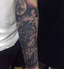 wolf tttoo tetovaza