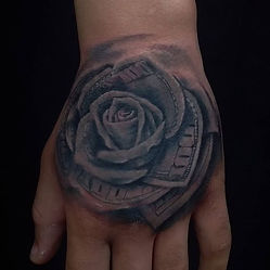 dolar rose tattoo tetovaza