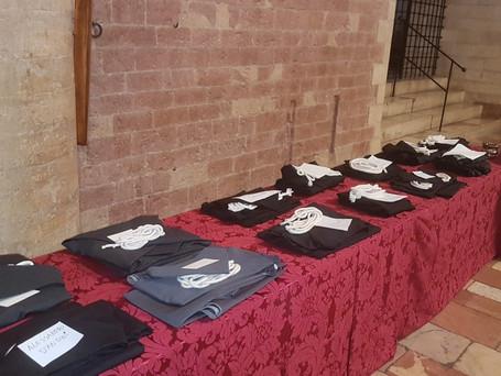 Oblačenje novaka- početak novicijata u  Asizu