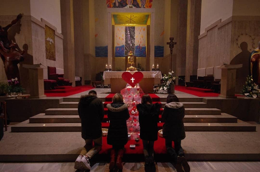 Duhovno duhovite večeri - klanjanje