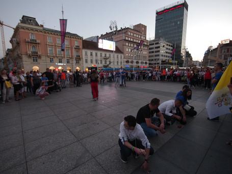Održan prvi Antunovski hod za mlade u Zagrebu
