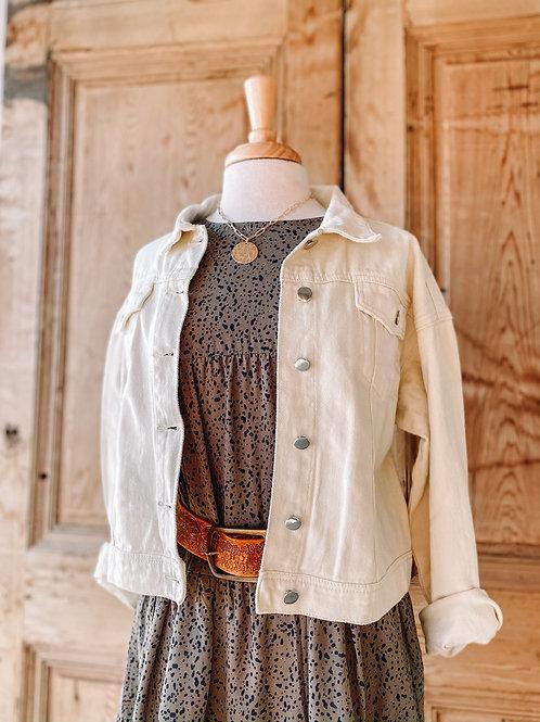 Felicity Cream Jacket