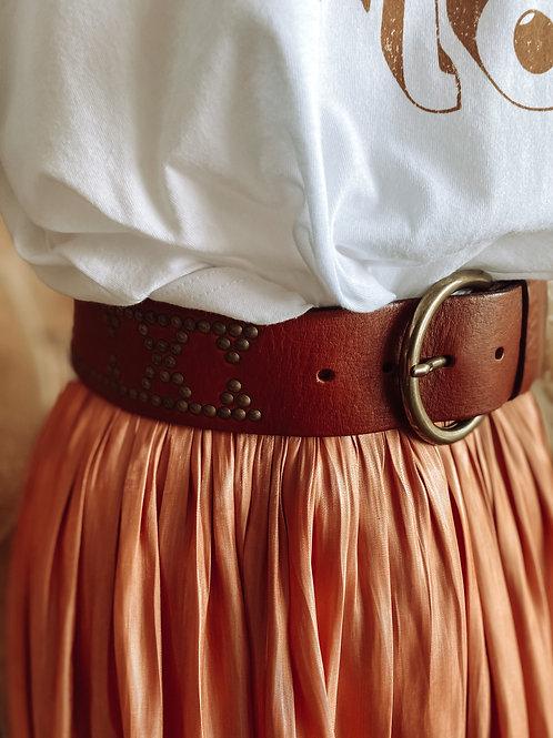 Boho Studded Belt