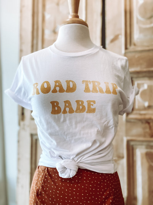 Road Trip Babe Graphic Tee