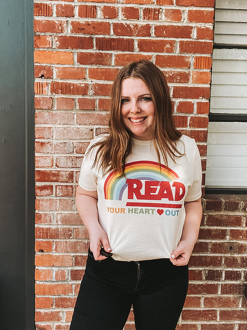 Read Your Heart Out Graphic Tee