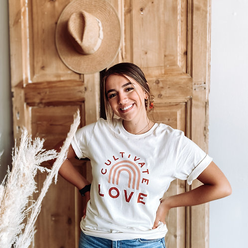 Cultivate Love Graphic Tee