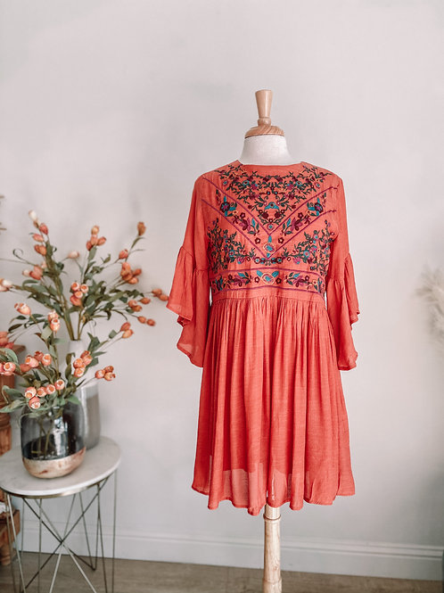 Fiona Embroidered Dress
