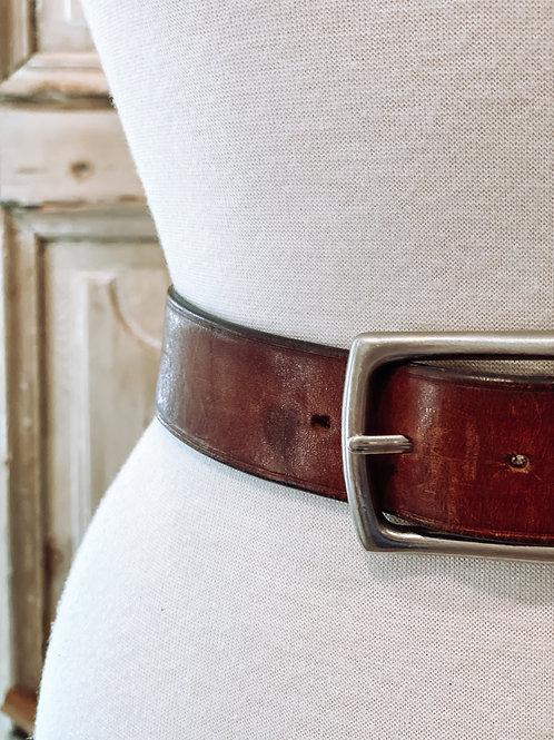 Avery Boyfriend Leather Belt