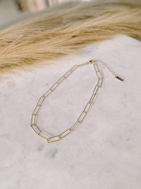 Rectangular Chain Necklace