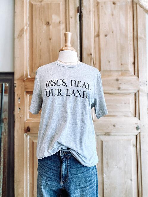 Jesus Heal Graphic Tee