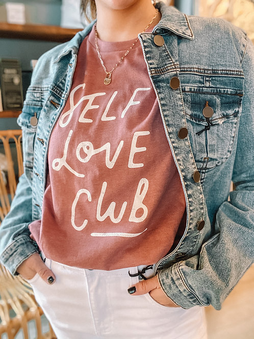 Self Love Club Graphic Tee