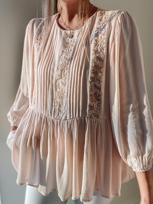 Jolene Embroidered Top