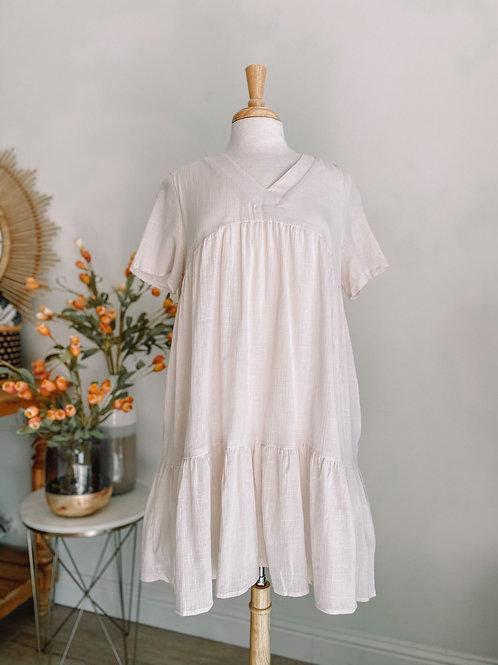 Josette Cream Dress