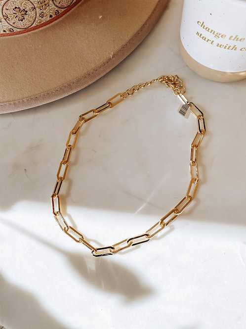 Shalia Chain Link Necklace