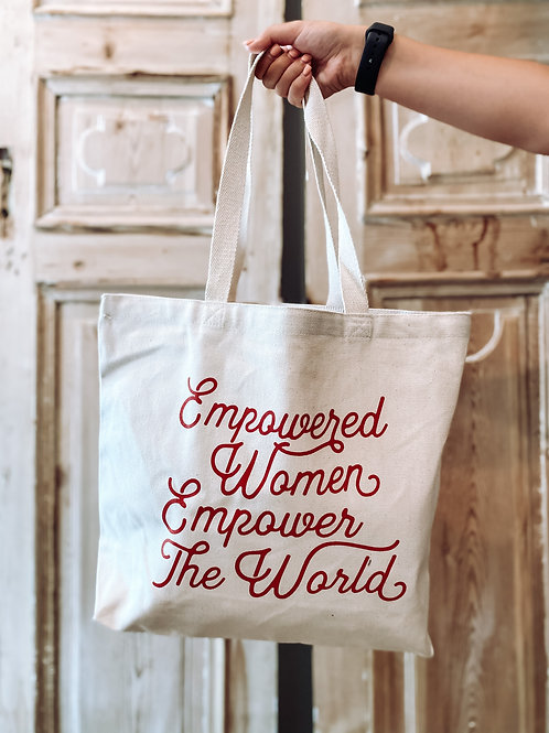 Empower the World Tote
