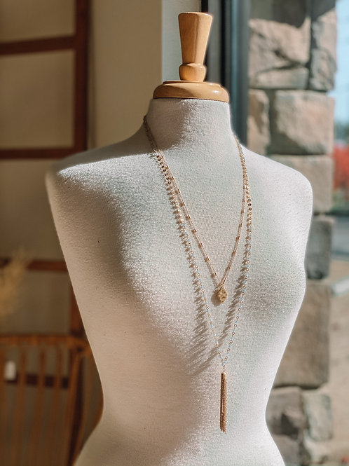 Lyric Two Tier Necklace