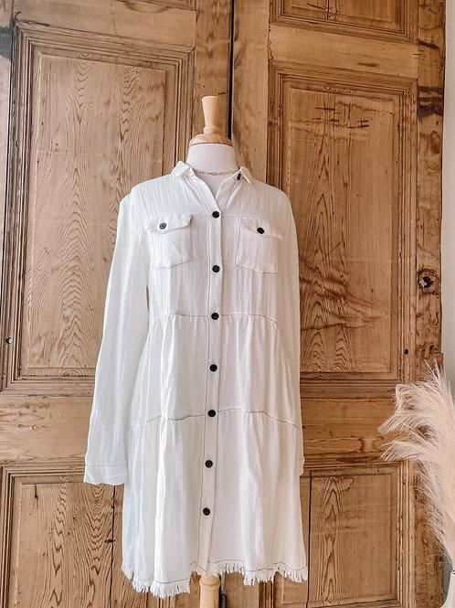 Hermine Button Dress
