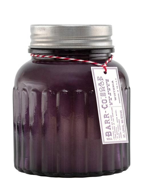 Wisteria Apothecary Jar Candle