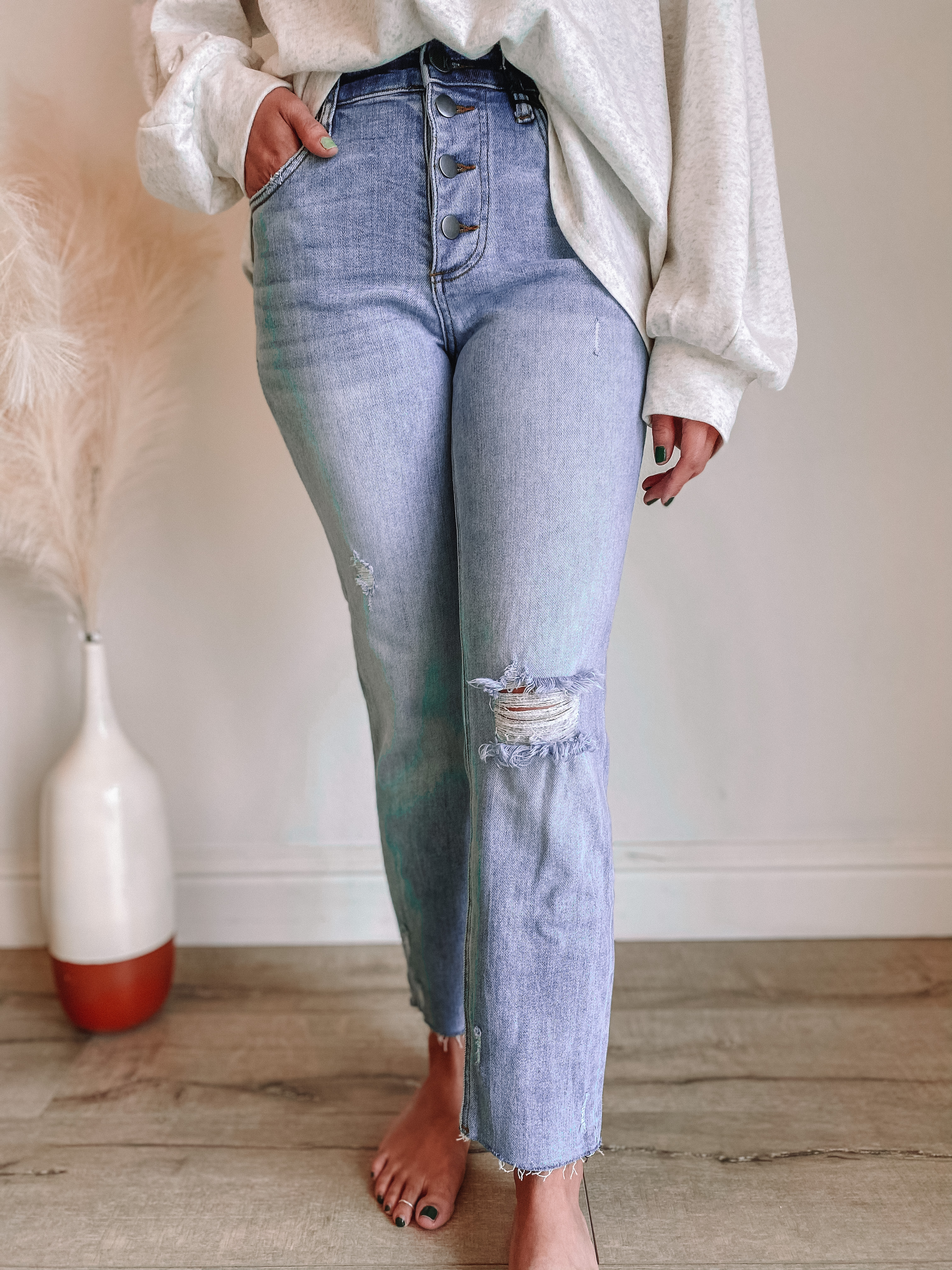 Rachael Mom Jeans