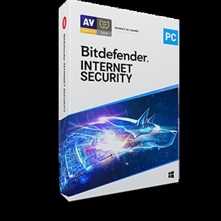 Bitdefender internet Security pour Windows 1an / 1Pc avec installation
