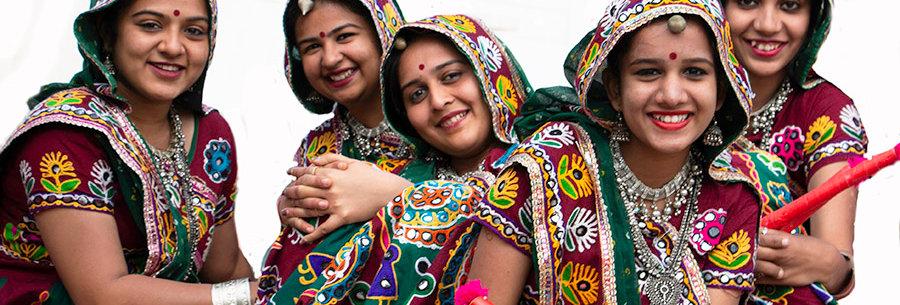 Quintet uit Gujarat - Indië