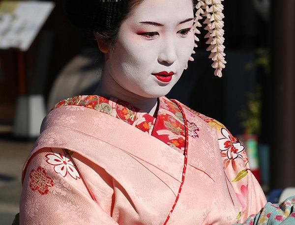 Japanse Geisha in Kyoto