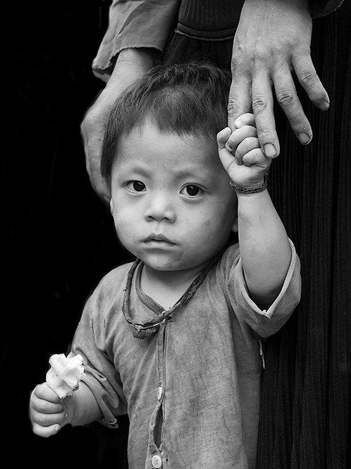Wondering boy in Vietnam
