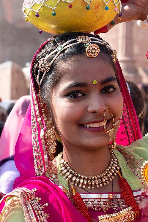 Young lady at Bikaner - Rajasthan