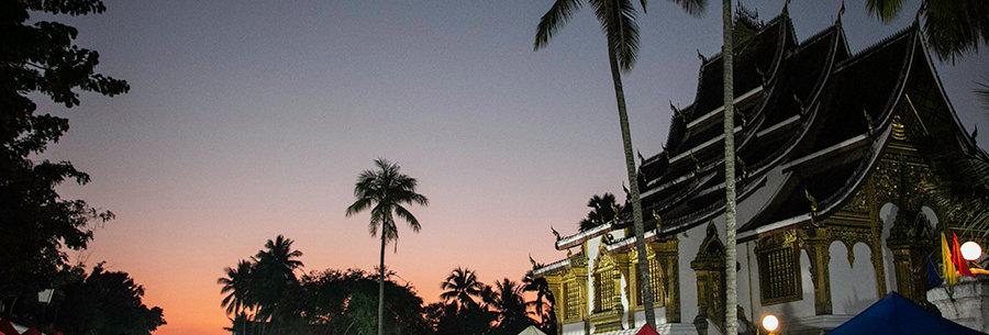 Avondmarkt van Luang Prabang