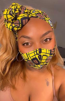 Korryn Headwrap w mask