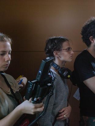 Laura Krestan, Lisa Friederich, Ivàn Robles Mendoza (vlnr)