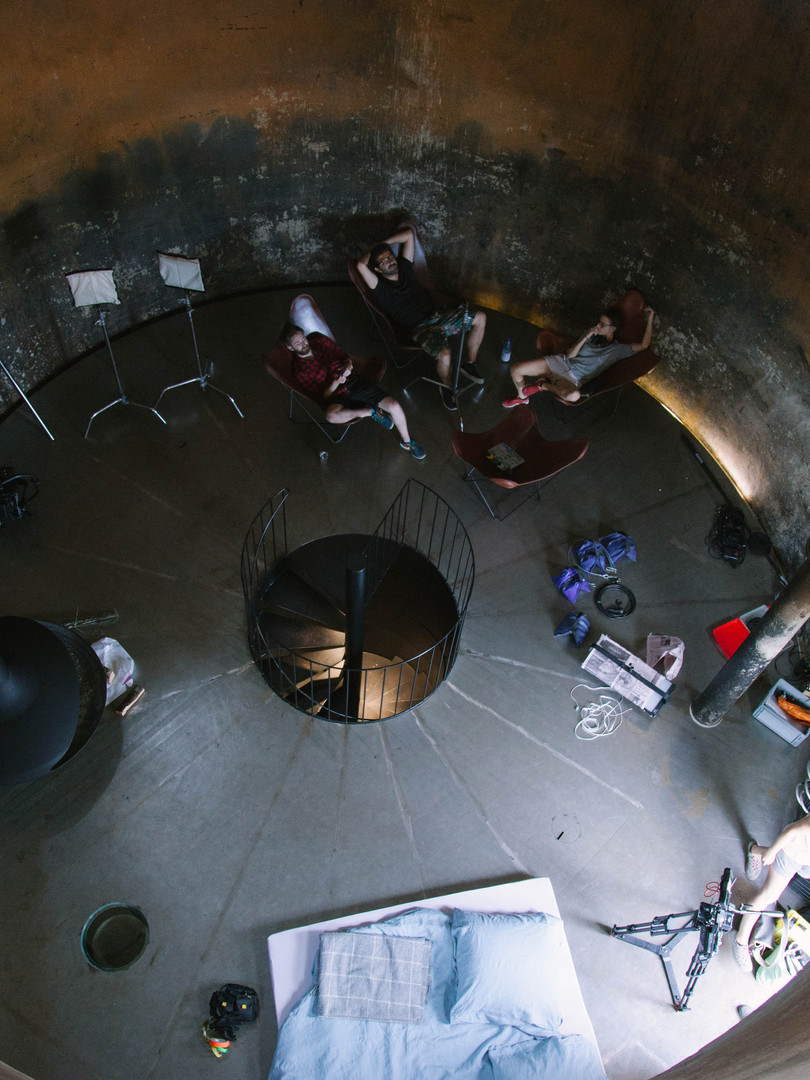 Top-view Tankturm