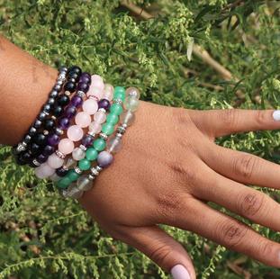 Energetic Gemstone Bracelets
