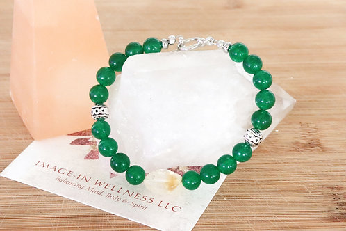 Green Jade and Citrine