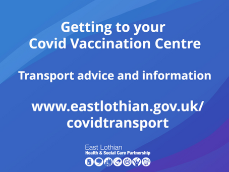 Getting to your Covid Vaccination Centre