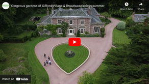 Gifford Village Open Gardens From Above!