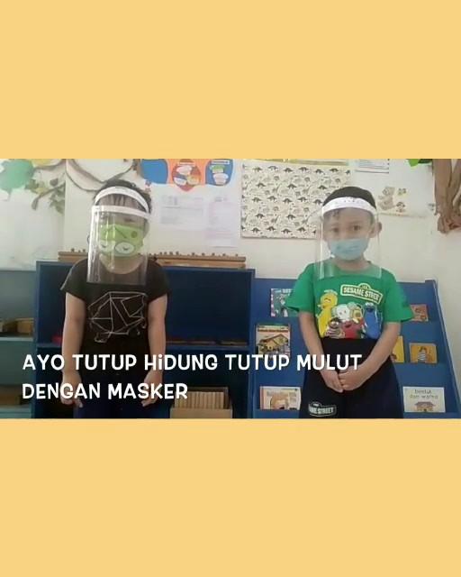 Tepuk Masker by Ben's Daycare students