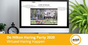 Virtueel Haring Happen tijdens de Hilton Haring Party 2020