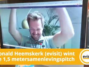Ronald Heemskerk (evisit) wint de 1,5 metersamenlevingspitch