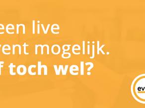 Van live naar online events, waar moet je op letten?