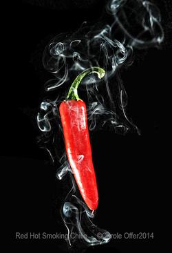 Red Smoking Peppar