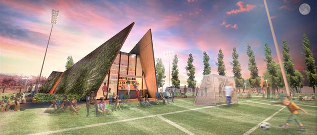 Rancho Los Amigos Sports Center, Downey, CA