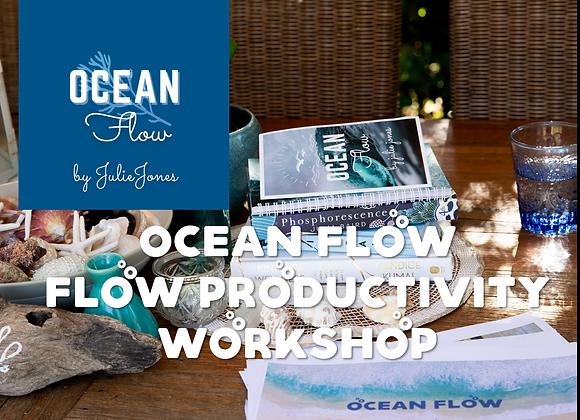 3rd August 2021 Ocean Flow Productivity Workshop