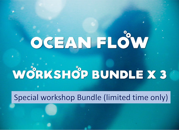 Ocean Flow Workshop Series x 3 workshops (available for July/Aug only)