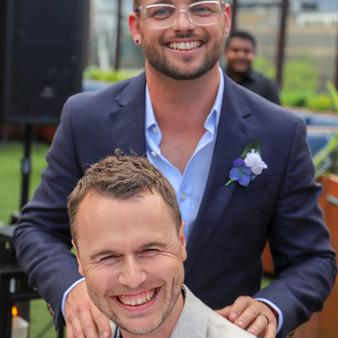 JASE + JAMES  //   MELBOURNE ROOFTOP SAME SEX WEDDING