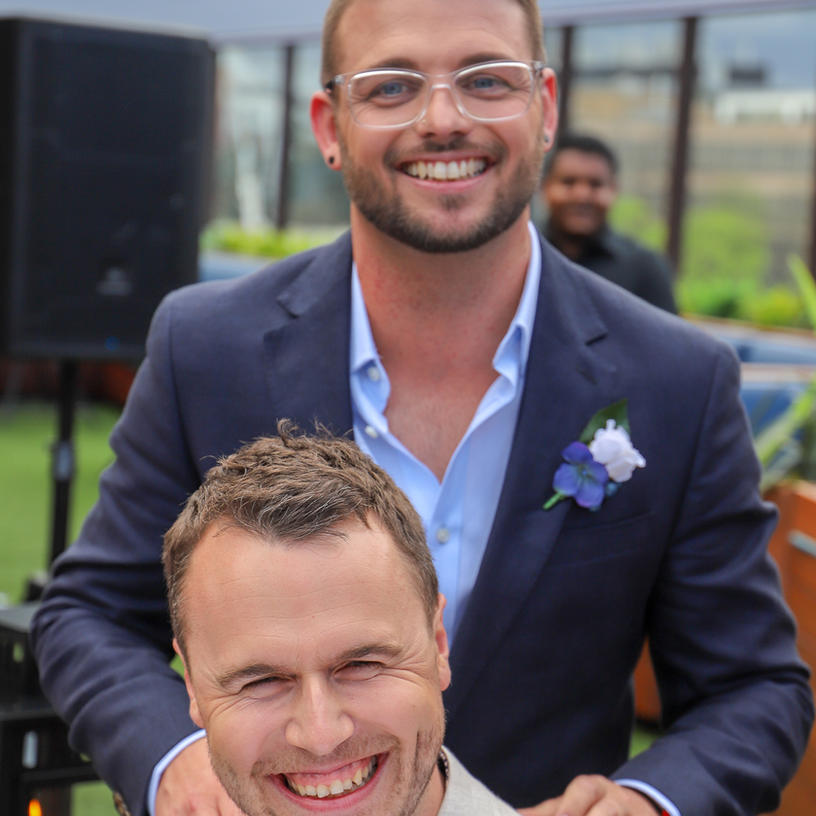 JASE + JAMES  //  MELBOURNE ROOFTOP WEDDING PHOTOGRAPHY