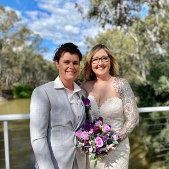 HAYLEE  +  LISA //  SPOONS RESTAURANT SAME SEX WEDDING PHOTOGRAPHY