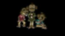 Monkey Brothers, personnages du jeu Arbi & Scrap