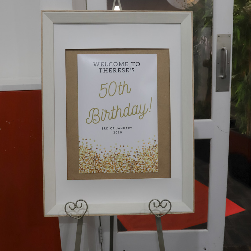 THERESE IS 50  // SUNBURY SOCIAL CLUB PHOTOGRAPHY