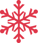 Red Snowflake
